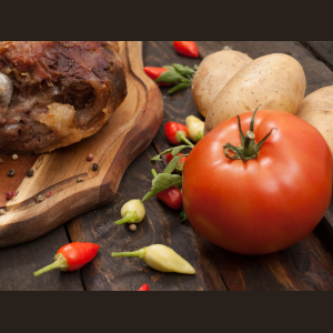 Εκλεκτά τοπικά προϊόντα της κουζίνας μας